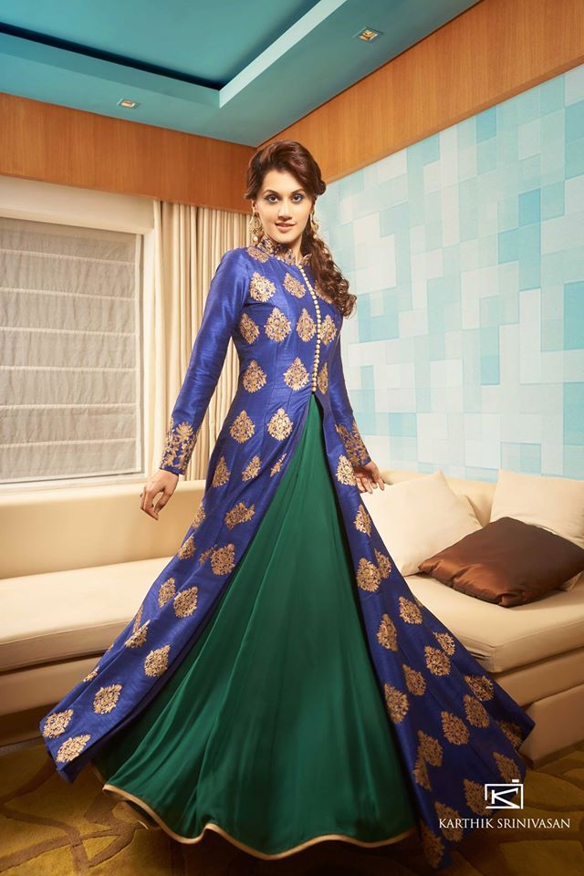 for the love of anarkali : lovely color and design. Feel in love with this dress...