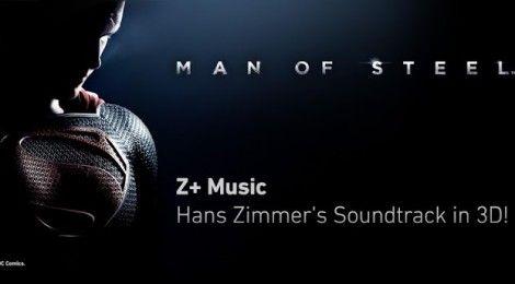 Experimentează coloana sonoră a filmului Man of Steel cu o aplicație unică ce redă sunetul 3D – Z+ Music