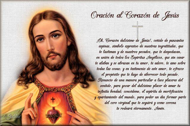SAGRADOS CORAZONES DE JESÚS Y MARÍA : ESTAMPAS CON ORACIONES AL SAGRADO CORAZÓN DE JESÚS...