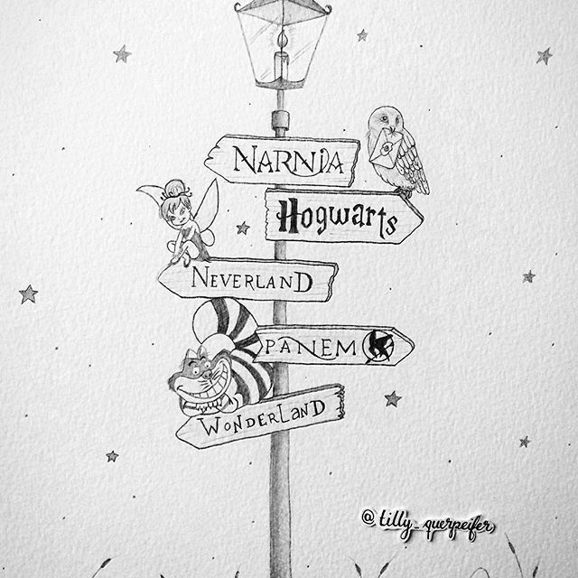 Harry Potter Panem Shire Hogwarts Neverland Peter Pan Narnia