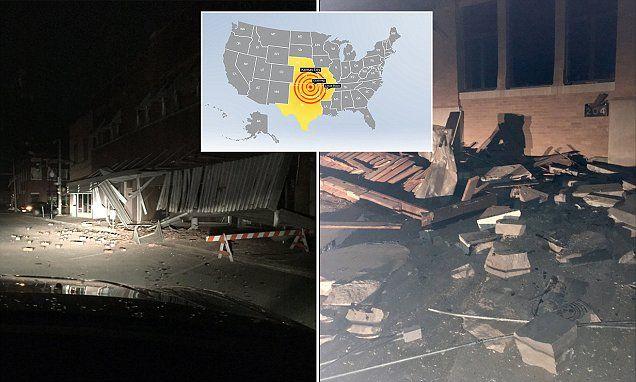 5.0 earthquake shakes central Oklahoma JUST KEEP FRACKING YOU STUPID FRUCKERS!