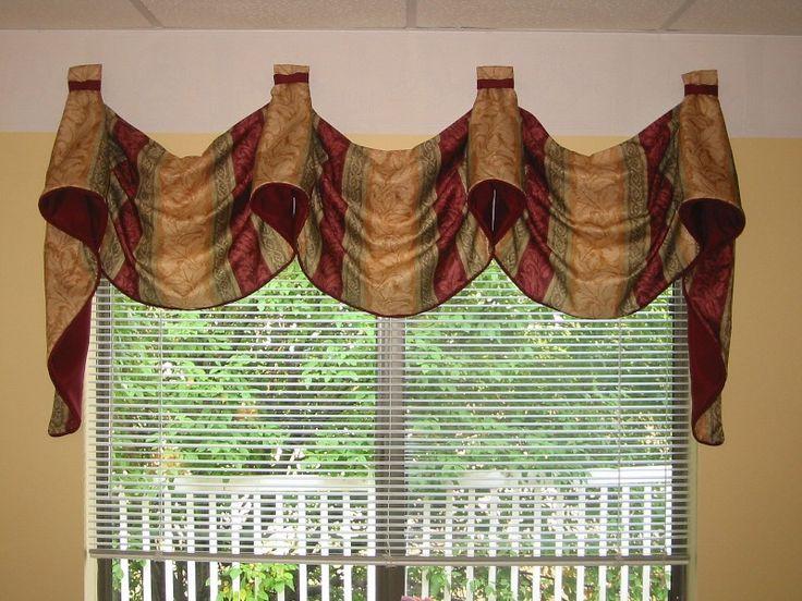 Valances Window Treatments 043 Pole Mounted Kingston
