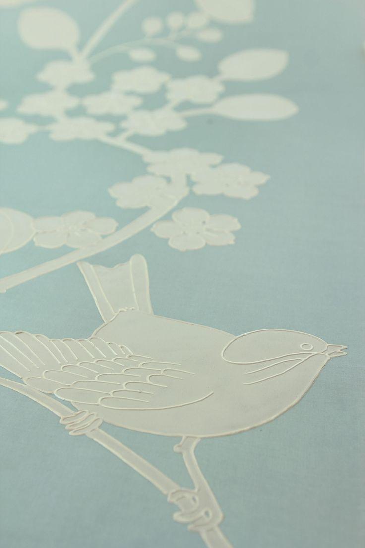 chinon - 20th century, Handmade Wallpaper - Fromental