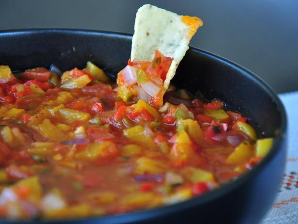 Make and share this Peach Salsa recipe from Food.com.