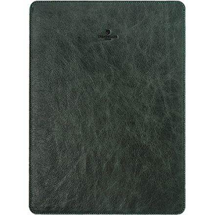 """Кожаный чехол Stoneguard для MacBook 12"""" зелёный (511)"""
