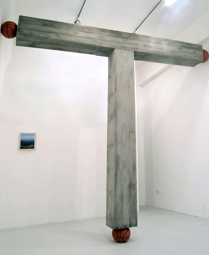 """Pennacchio Argentato - """"Estate"""", T293 gallery, Naples, 2008"""