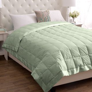Shop for European Heritage Classic White Down Blanket. Get free delivery at Overstock.com - Your Online Blankets