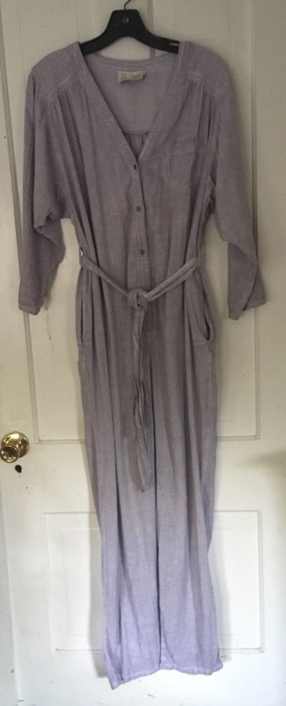 ca1f7ba27fb Saturday Sunday Anthropologie lavender jumpsuit sz S  fashion  clothing   shoes  accessories  womensclothing  jumpsuitsrompers (ebay link)