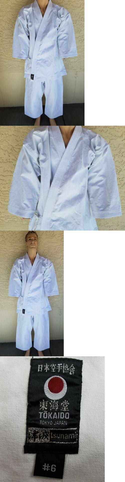 Other Combat Sport Clothing 73988: Tokaido Tsunami Japan Uniform Heavyweight Martial Arts Karate Gi 4+ Lbs Size # 6 -> BUY IT NOW ONLY: $125 on eBay!
