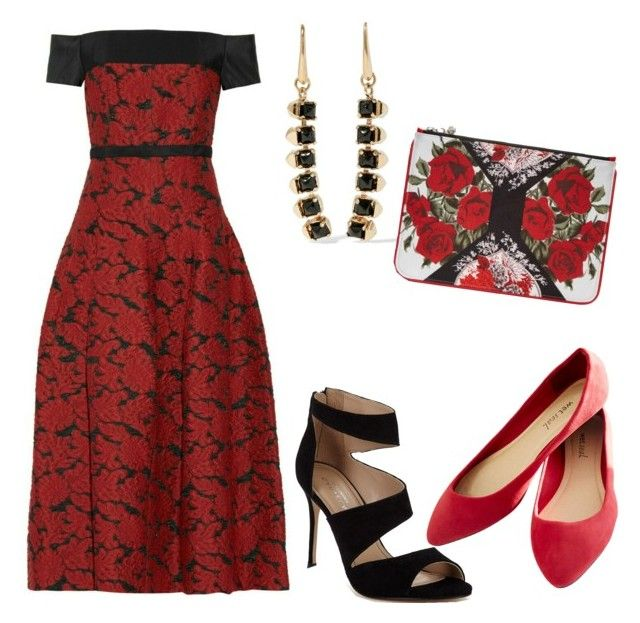 Untitled #29 by romares68 on Polyvore featuring polyvore fashion style Carvela Wet Seal Alexander McQueen clothing
