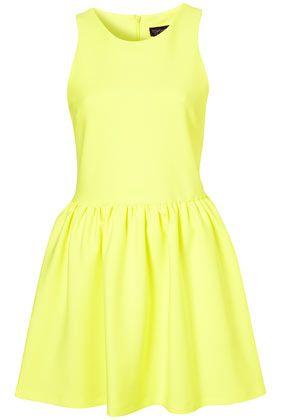 neon :)Scubas Skater, Yellow Dresses, Fashion Styles, Clothing Outfit, Neon Dresses, Fluro Yellow, Skater Dresses, Style Clothes, Neon Yellow