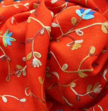 Pashmina sjaal oranje