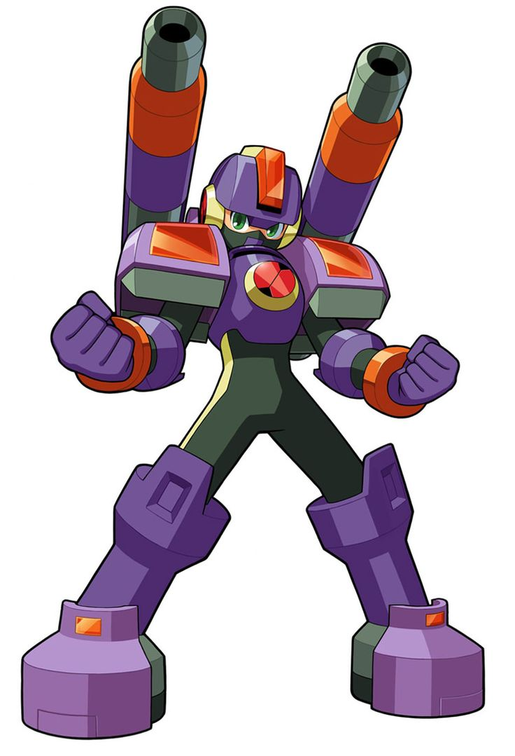 Napalm Soul from Mega Man Battle Network 5