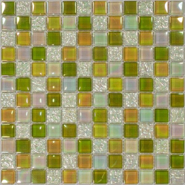 Dell'Arte - mozaiki dekoracyjne Green Point 23 (plaster 30x30)