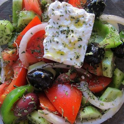 Authentic Greek Salad | Tasty Kitchen: A Happy Recipe Community!