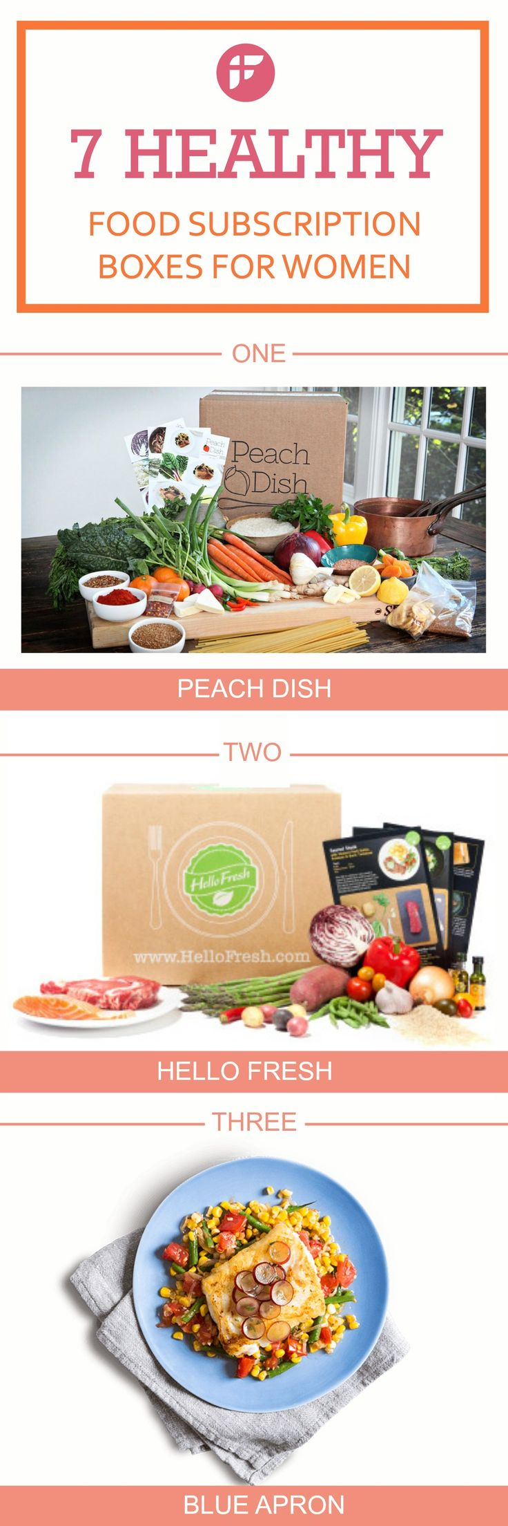 39 best box service food and snack delivery images on pinterest 7 healthy food subscription boxes for women delivery foodbest forumfinder Choice Image