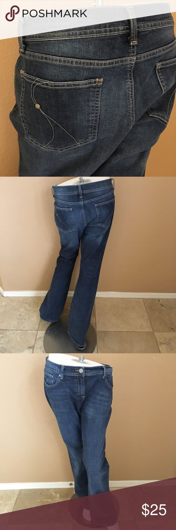 INC International Concepts Jeans! 188. Women's INC International Concepts Jeans! Size 14, inseam 32 inches! In excellent condition only worn a couple times! INC International Concepts Jeans Boot Cut