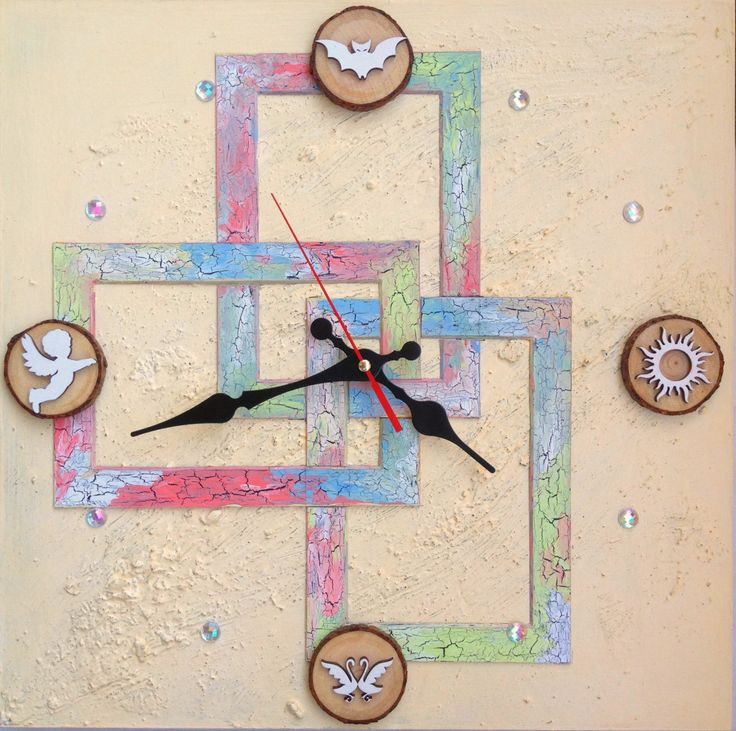 Abstract Wall Clocks for your bright interior / Clocks / Wall clocks/ Unique…
