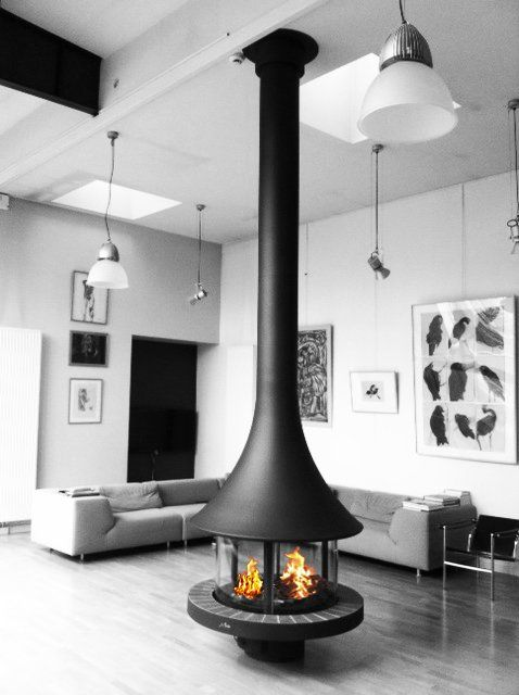 modéle Eva 992 #bordelet #fireplaces #stoves #cheminee #metal la gamme sur www.bordelet.com