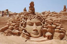 ღღ Sand art