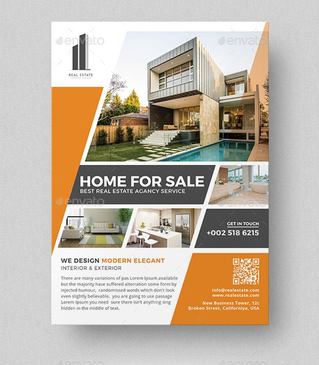 Real Estate Business Flyer Real Estate Real Estate Flyers Real Estate Flyer Template