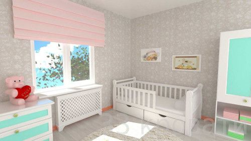 """Детская кровать """"Фея"""""""