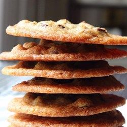 """Chef John's Chocolate Chip Cookies   """"Crispy around the edges, chewy and chocolaty in the middle, and thin, oh so thin."""""""