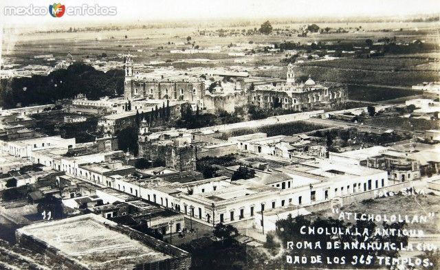 Fotos de Cholula, Puebla, México: 365 templos