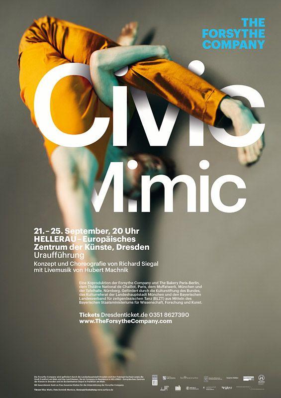 The Forsythe Company Alessio Silvestrin: Dancer Hubert Machnik