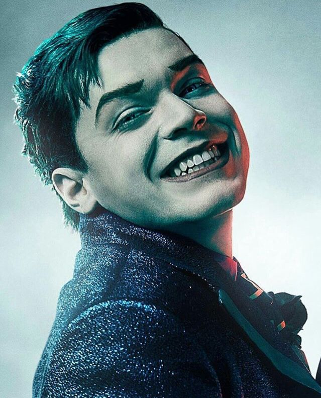 He could be evil,but that smile    #Jeremiah #Joker #Gotham