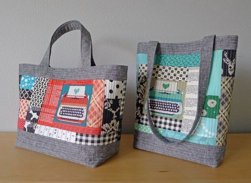 Perfect Quilted Totes