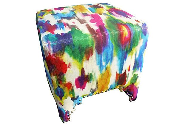 Farha Rainbow Stool on OneKingsLane.com