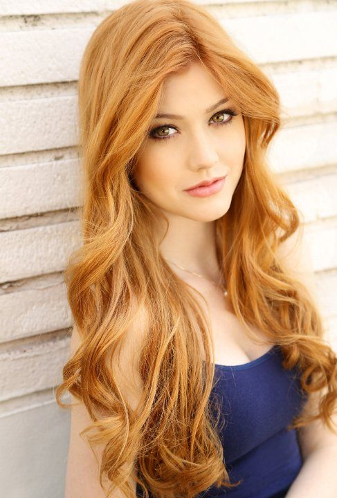 This is the hair color I want. Strawberry blonde to light red. It looks so natural and would flatter my skin tone I think.