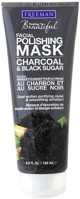 Freeman Charcoal and Black Sugar Facial Polishing Mask Review - A Girls Gotta Spa!