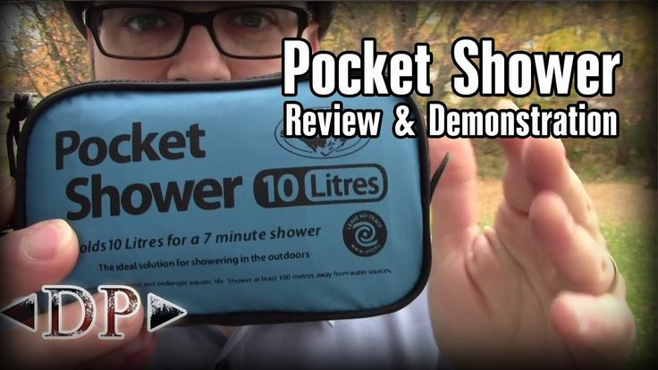 Find out more about this awesome piece of gear here!: http://amzn.to/MAPlcx The Sea To Summit Pocket Shower is a solar shower designed with hikers and backpa...
