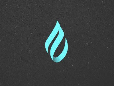 ZAO LogoWater Inspiration, Logo Design, Beautiful Water, Zao Logo, Shots 1282691611, Water Drop Logo, Logos Design, Water Logo, Inspiration Logo