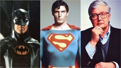 Two Superman films and two Batman films earned 4 stars from Roger Ebert
