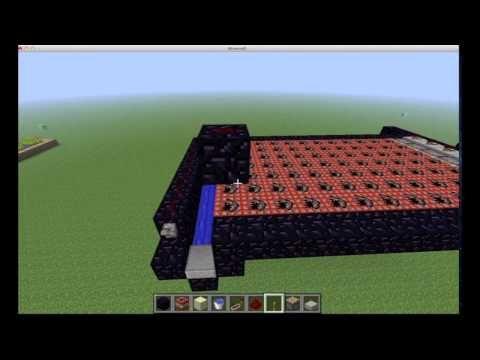 Minecraft Full Auto TNT Cannon Tutorial - YouTube