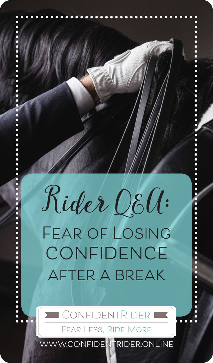 """It's quite a common fear to be concerned that your riding mojo (and everything that goes along with it!) is going to leave the building if and when you need to take a break. On our Worry Wednesday thread, Sharon Bettany posted:  """"I have made so much progress this year with my confidence levels and my horse's skill levels. What worries me is that I am going to lose it over the summer break and I will be basically starting again when the break is over."""""""