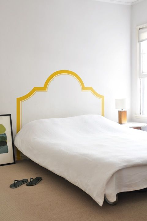 nessa headboard: rad headboard wall decals