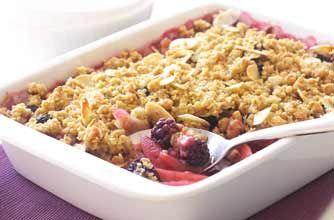 James Martin's blackberry crumble recipe ....♥♥....
