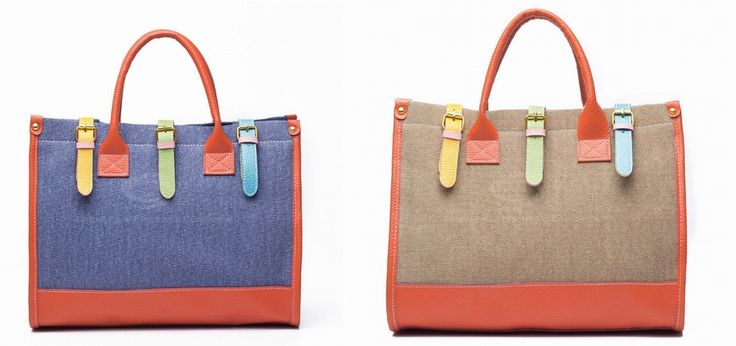 Fashion and Casual Women's Handbag With Color Block and Buckle Design, $31.10