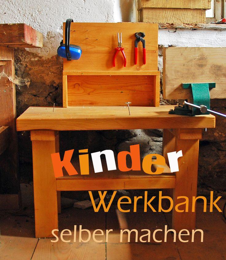 Kinder-Werkbank selber machen.