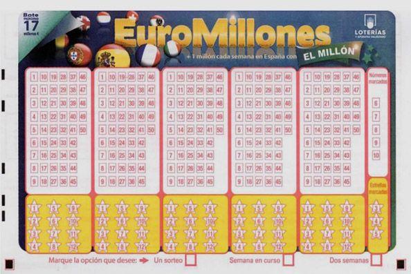 Las nuevas probabilidades del sorteo de la loto Euromillones