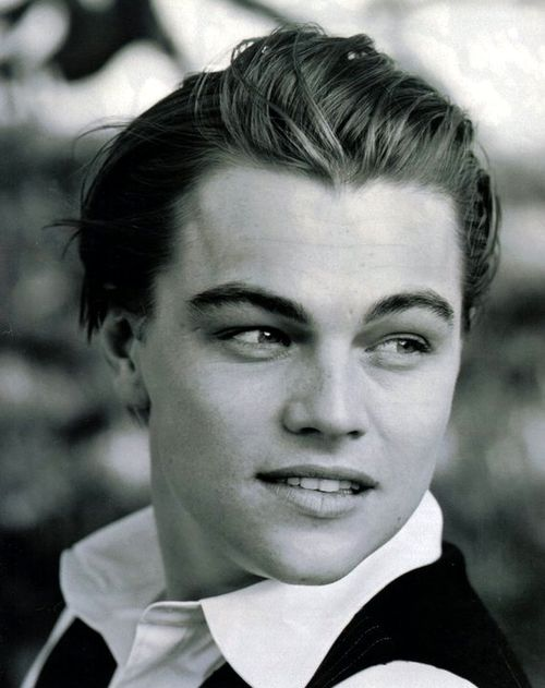 Leo. So young. So gorgeous, Still the most gorgeous man in my eyes