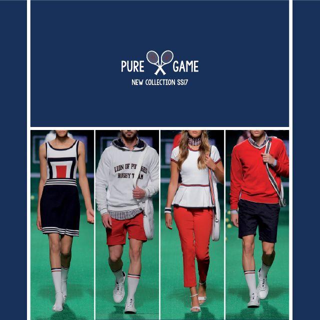 Pure Game l New Collection Spring Summer 17 Preview da Nova Coleção já disponível na sua Loja Lion of Porches e Loja Online www.lionofporches.com