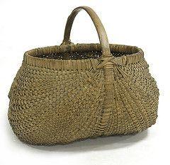 Antique buttocks basket.