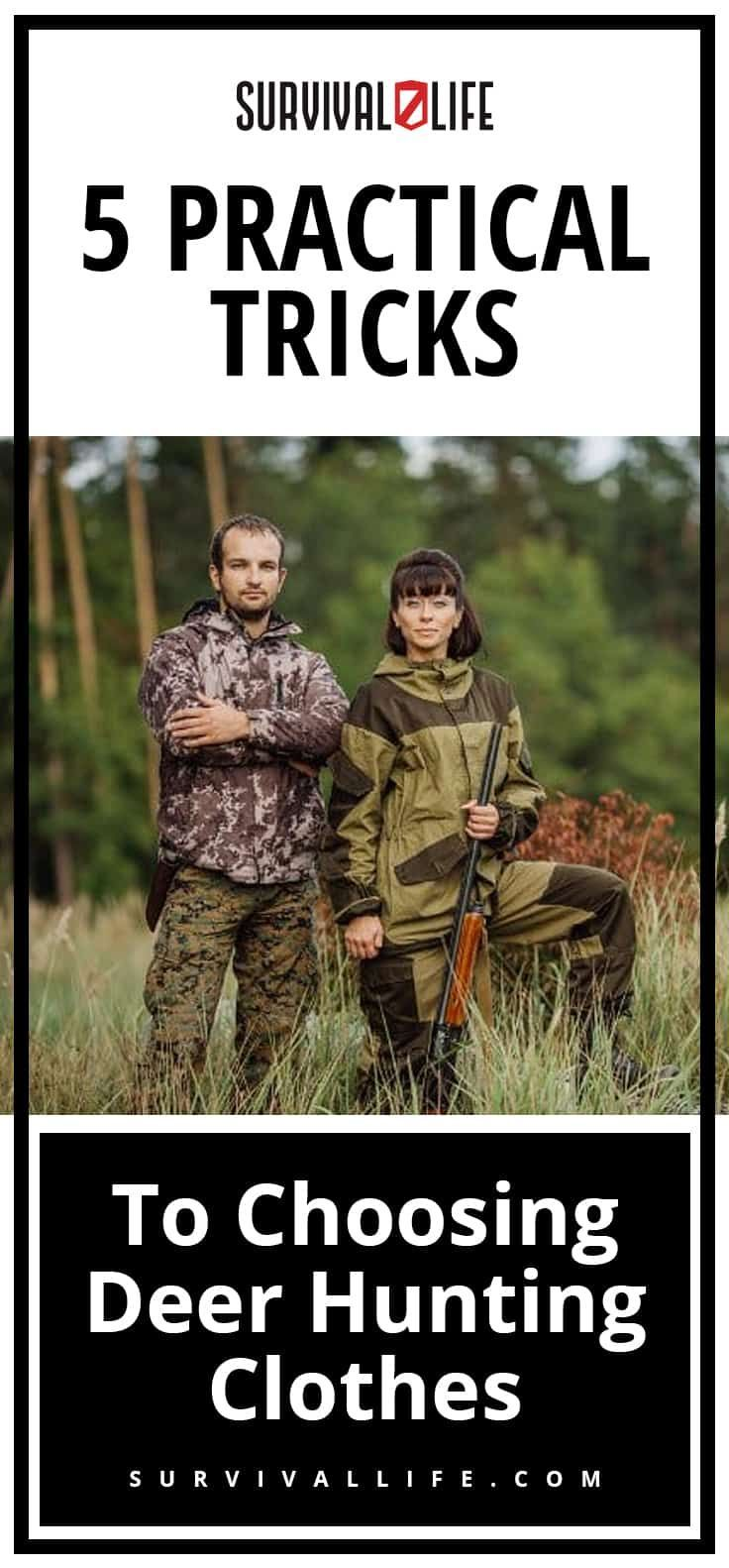 fc34a42037f28 5 Practical Tricks To Choosing Deer Hunting Clothes | Posted by:  SurvivalofthePrepped.com #deerhunting | Hunting Life | Pinterest | Hunting, Deer  Hunting ...