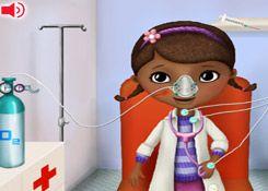 DoctoraJuguetesJuegos.com - Juego: Ambulancia Doctora Juguetes - Minijuegos de Doc Juguetes Disney Jugar Gratis Online