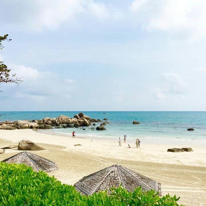 Beautiful Bintan's beach. Indonesia.